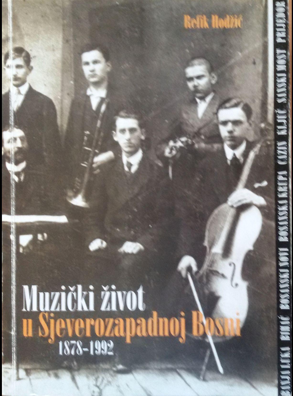 Knjiga Muzički život u Sjeverozapadnoj Bosni